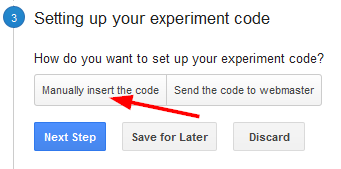 Setting Up Your Experiment