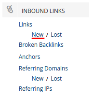 HubSpot New Backlinks