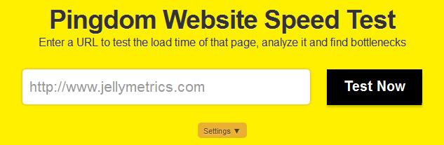 Pingdom Website Speed Test