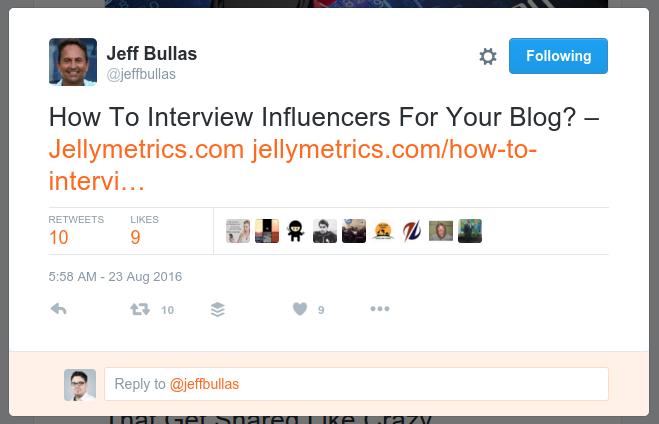 Jeff Tweet