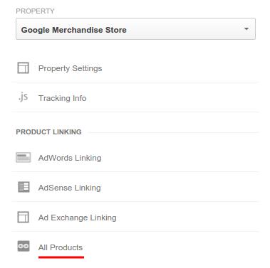 Google Analytics Link Accounts