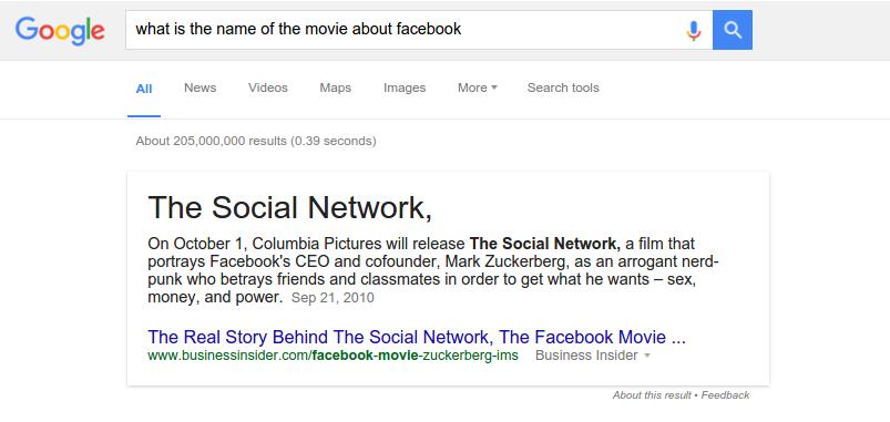 Google is becoming smarter
