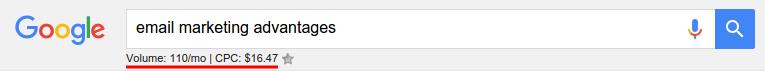Google SERP data