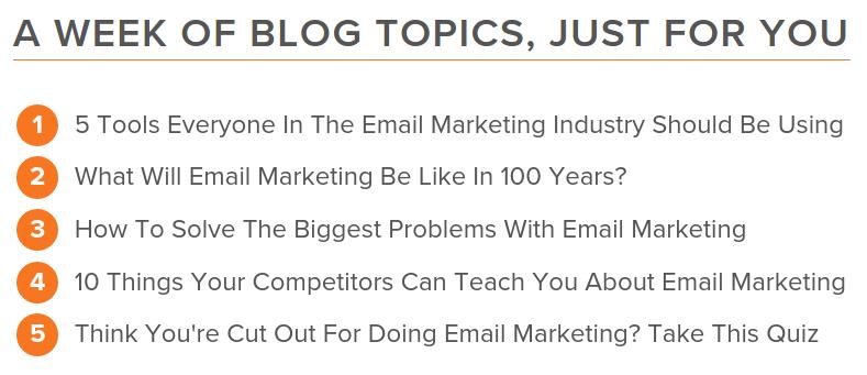 Hubspot Blog Post Generator Ideas
