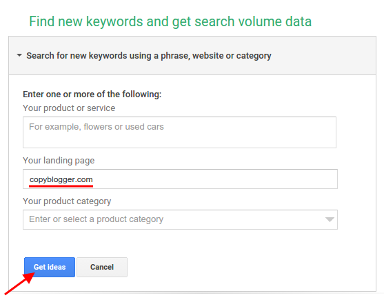 Keywords Related To Landing Page