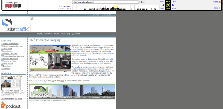Sitetraffic.com Web Archive