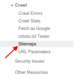 Search Console Sitemap