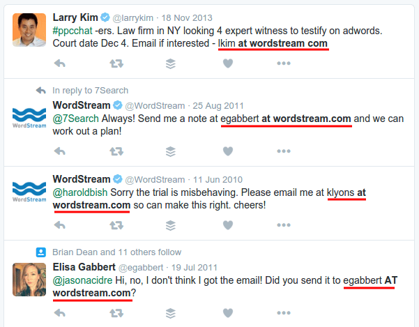 Twitter Advanced Search Results