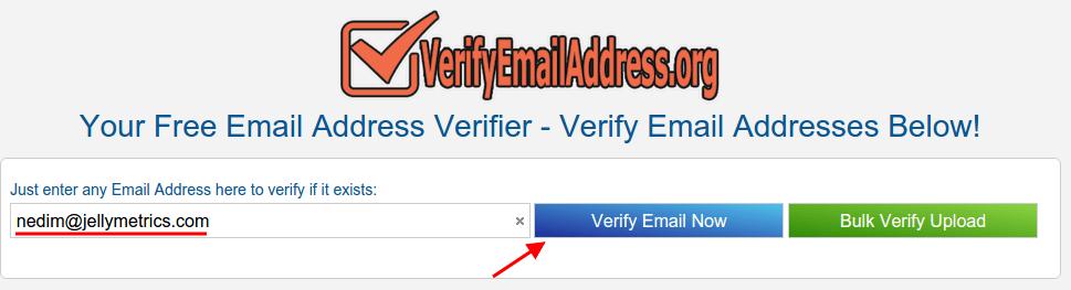 VerifyEmailAddress Search