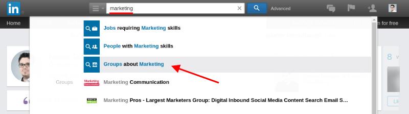 Linkedin: Marketing