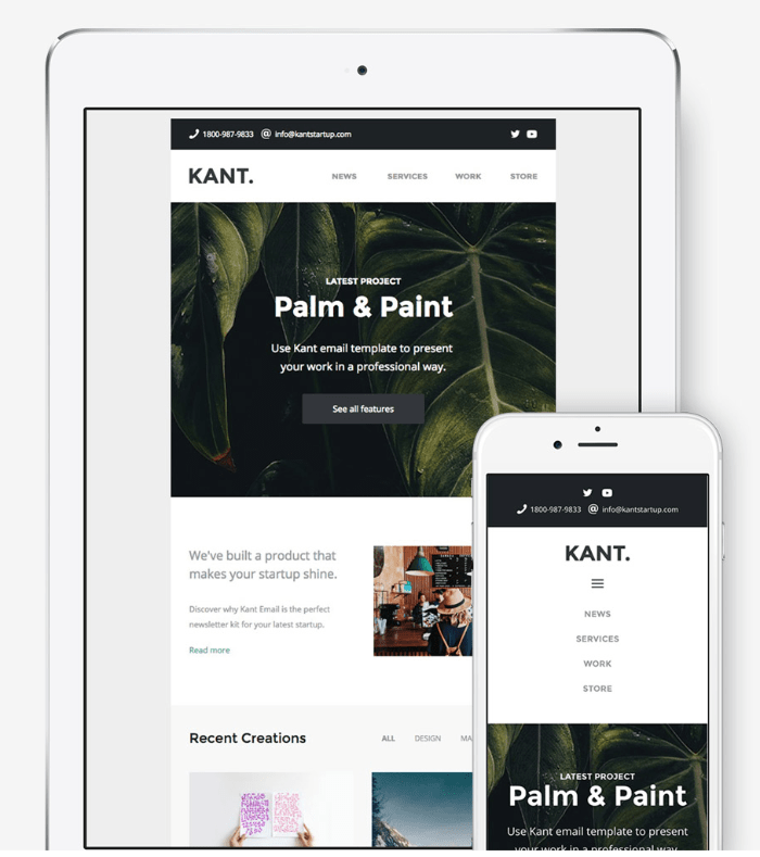 Palm and paint newsletter