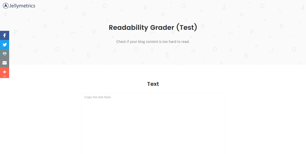 Redability Test Tool