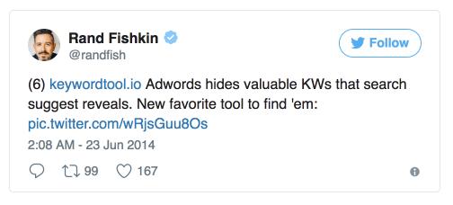 Keywordtool.io: Rand Fishkin